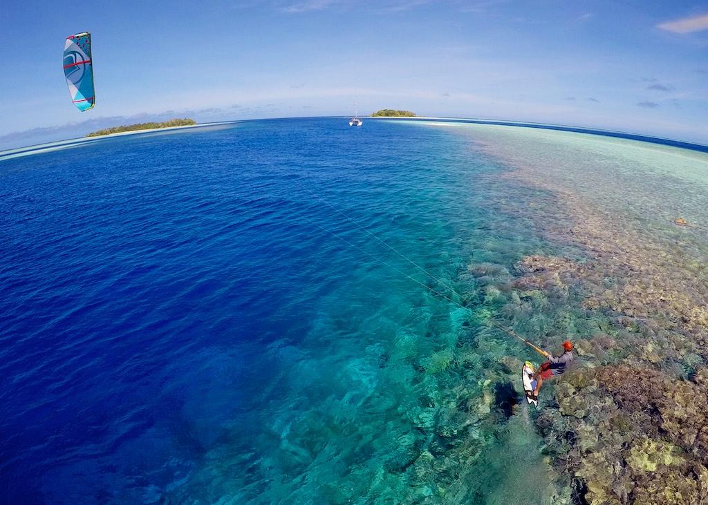 Marshall Islands kitesurfing adventure