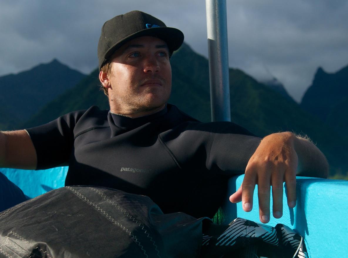 Ambassador, Reo Stevens, Teahupo'o, Tahiti French Polynesia 