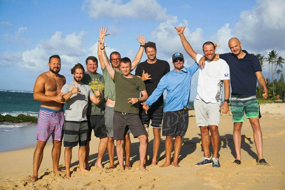kitesurfing coaching private group