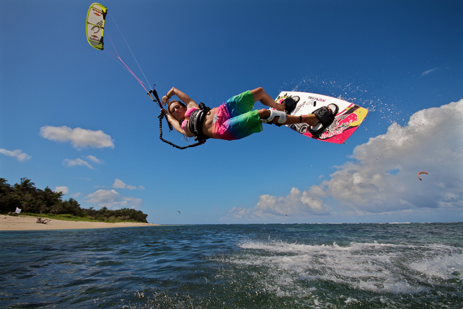 Susi Mai kiteboarding Kingfisher